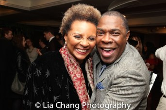 Leslie Uggams and Michael Potts. Photo by Lia Chang