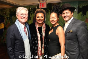 Grahame Pratt, Leslie Uggams, Crystal Dickinson and Brandon J. Dirden. Photo by Lia Chang