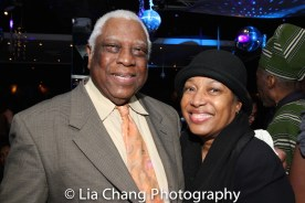 Woodie King Jr. and Elizabeth Van Dyke. Photo by Lia Chang