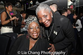 Ebony Jo-Ann and her sister Deborah Joseph. Photo by Lia Chang