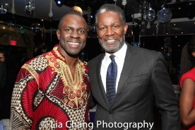 Gbenga Akinnagbe and John Douglas Thompson. Photo by Lia Chang