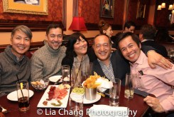 Jason Ma, Alan Ariano, Ann Harada, Alan Muraoka and Steven Eng. Photo by Lia Chang
