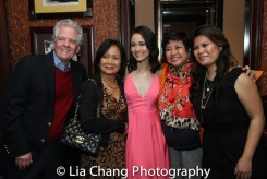 Bob Ewoldt, Leah Ewoldt, Ali Ewoldt, Thelma Reyes, Liz Casasola. Photo by Lia Chang