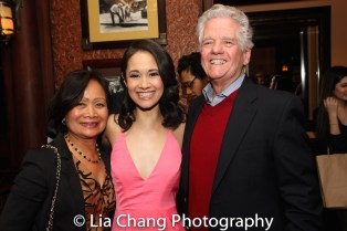 Ali Ewoldt with her parents Leah Ewoldt and Bob Ewoldt. Photo by Lia Chang