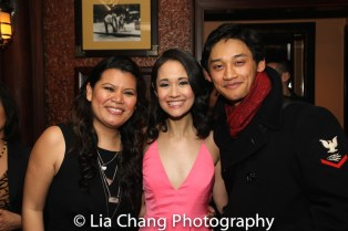 Liz Casasola, Ali Ewoldt and Joshua Dela Cruz. Photo by Lia Chang