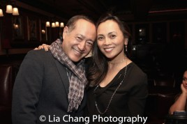 Alan Muraoka and Ernabel Demillo. Photo by Lia Chang