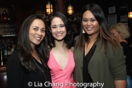Ernabel DeMillo, Ali Ewoldt and Nicole Adrienne Ponseca. Photo by Lia Chang
