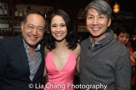 Alan Muraoka, Ali Ewoldt and Jason Ma. Photo by Lia Chang