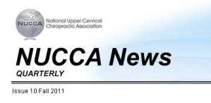 NUCCA News Masthead