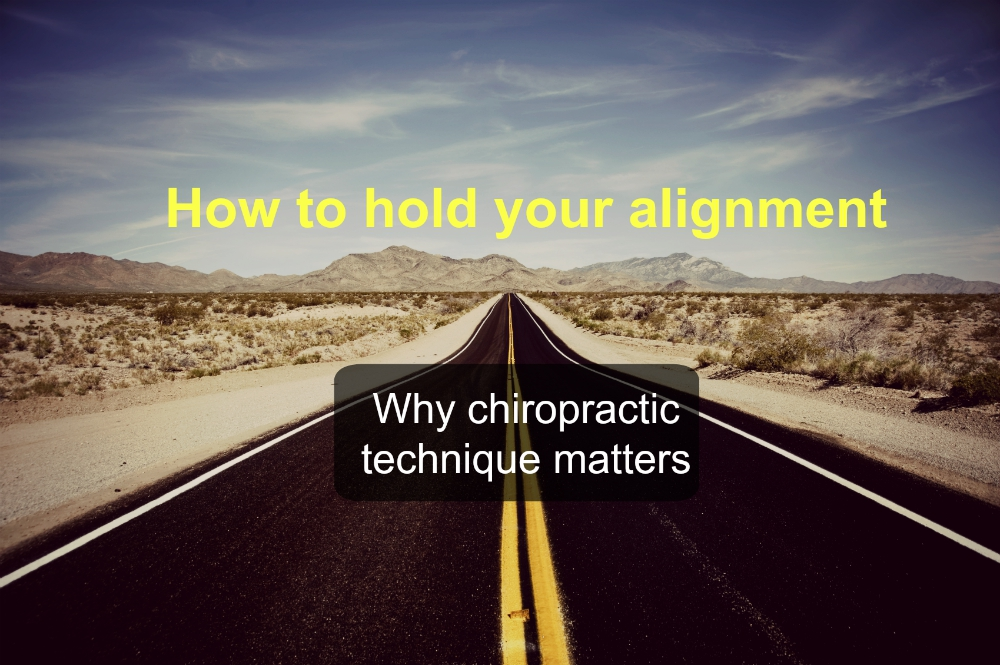 Why Chiropractic Technique Matters