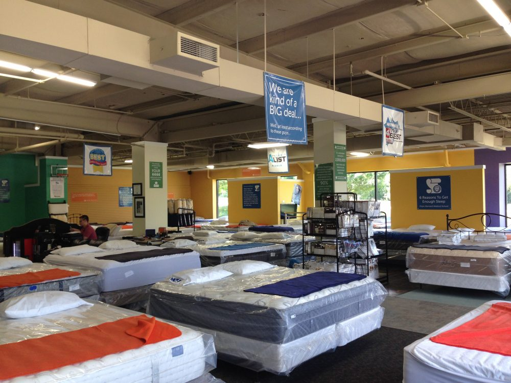Showroom of Mattress Closeout Center - Discount Mattress