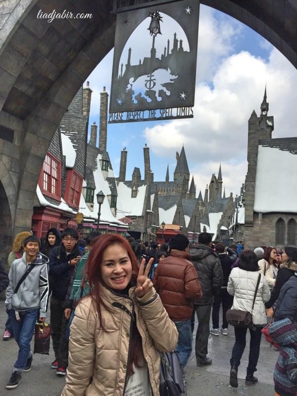 Gerbang kawasan Harry Potter