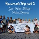 RiaMiranda Trip part 2-Goa Halo Tabung di Pulau Maratua