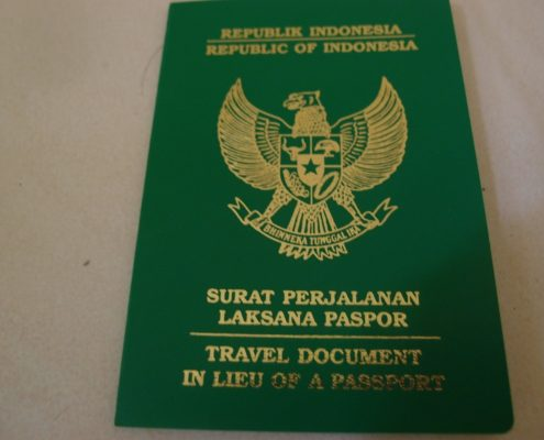 surat perjalanan laksana paspor