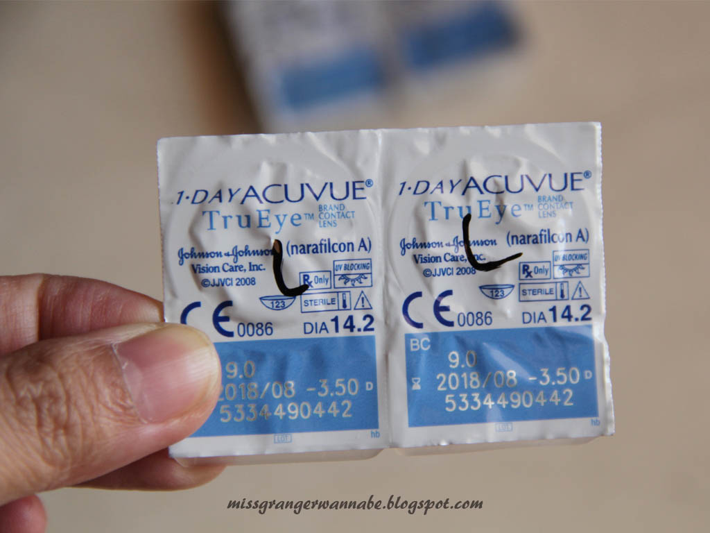 Free Contact Lens Trial >> Free Trial Soft Lens Acuvue Lia Harahap