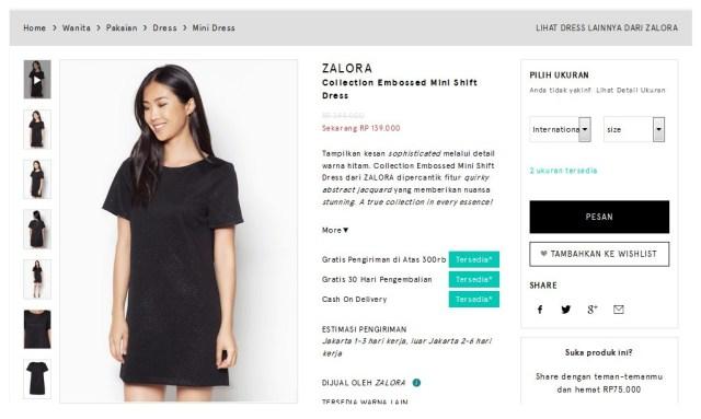 zalora-shift-dress-black