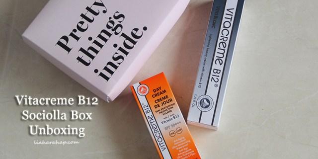 Vitacreme B12 Sociolla Box