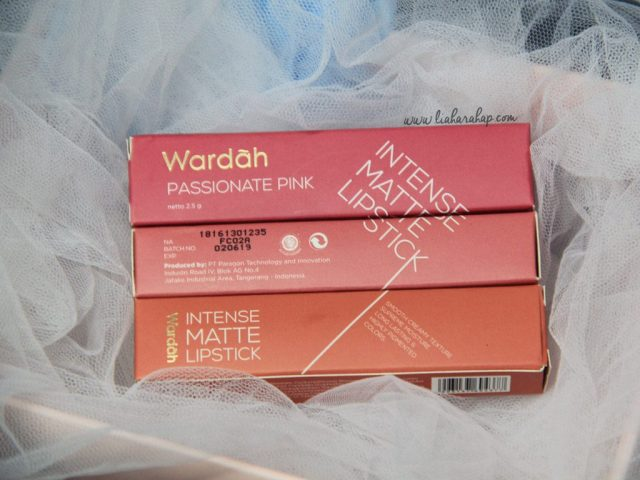 Wardah Intense Matte Lipstick Review