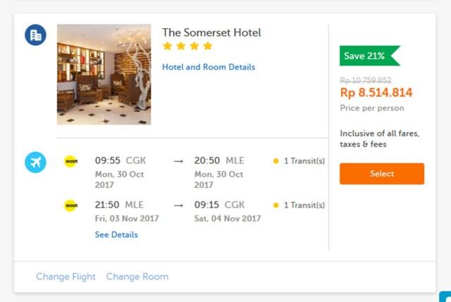 Paket Honeymoon Traveloka