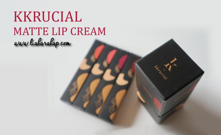 Kkrucial Matte Lip Cream