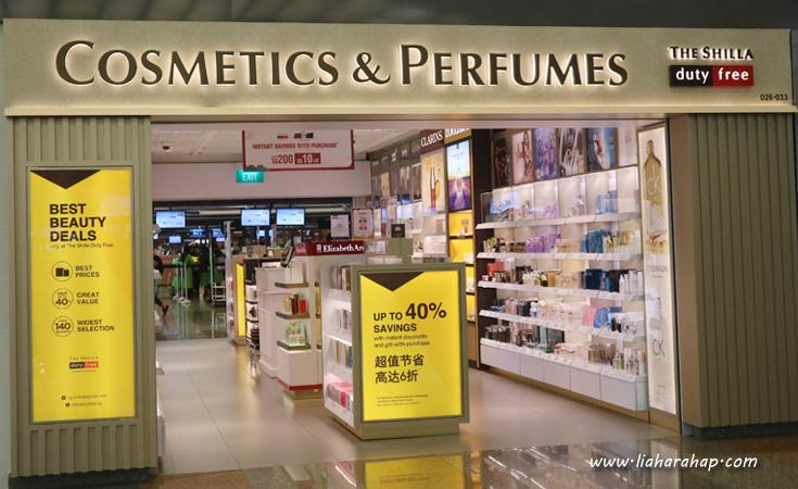 Belanja Makeup Di Changi