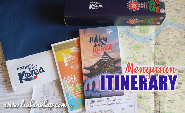 Cara Menyusun Itinerary