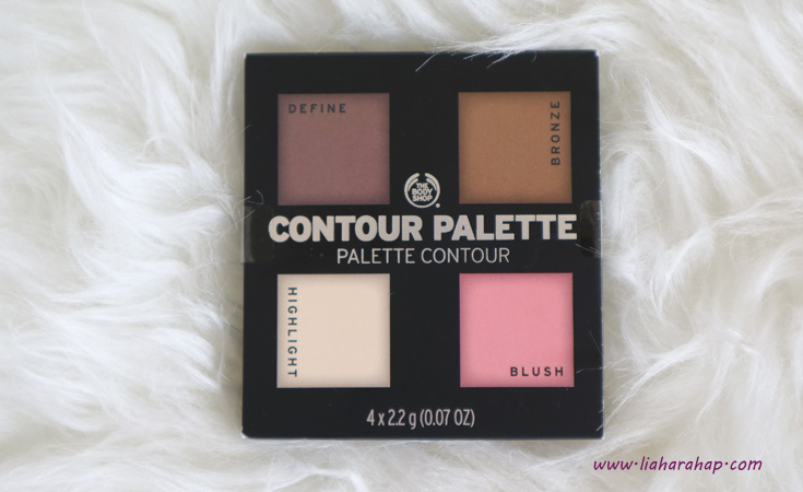 The Body Shop Makeup Contour Palette