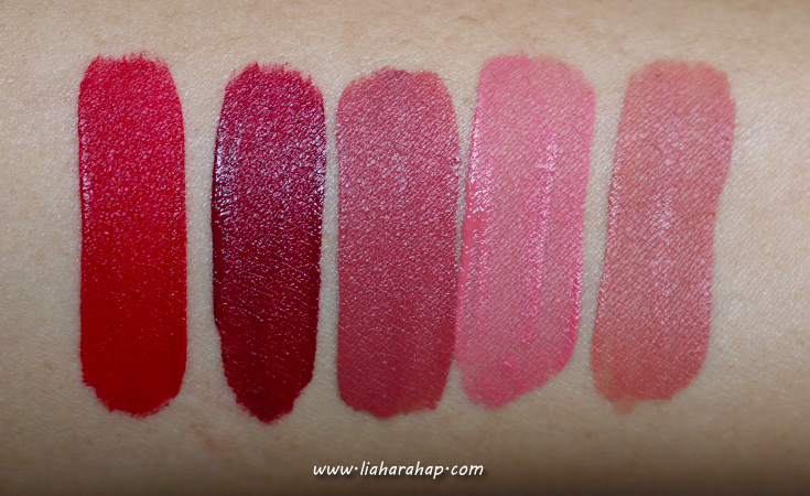 swatch lip cream rivera cosmetics
