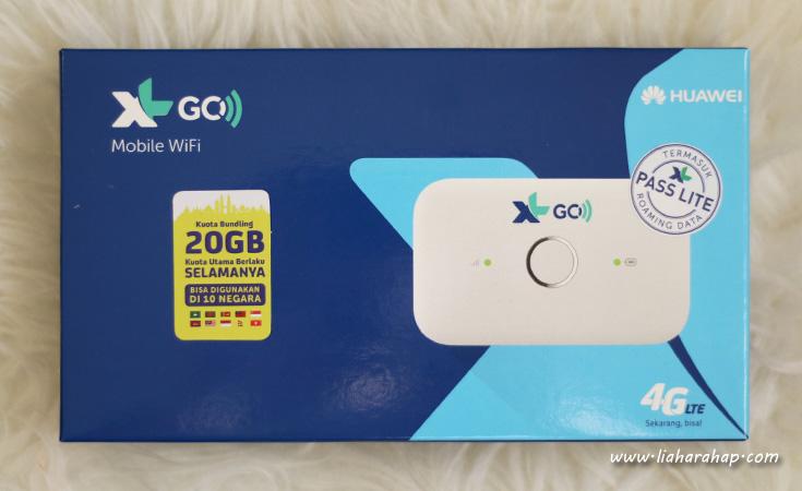 Pengalaman Mencoba XL GO IZI Untuk Urusan Pekerjaan – Lia Harahap