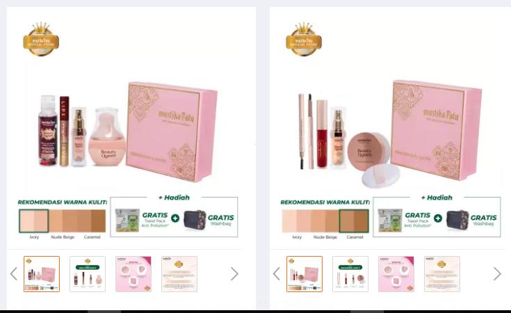 gift set makeup