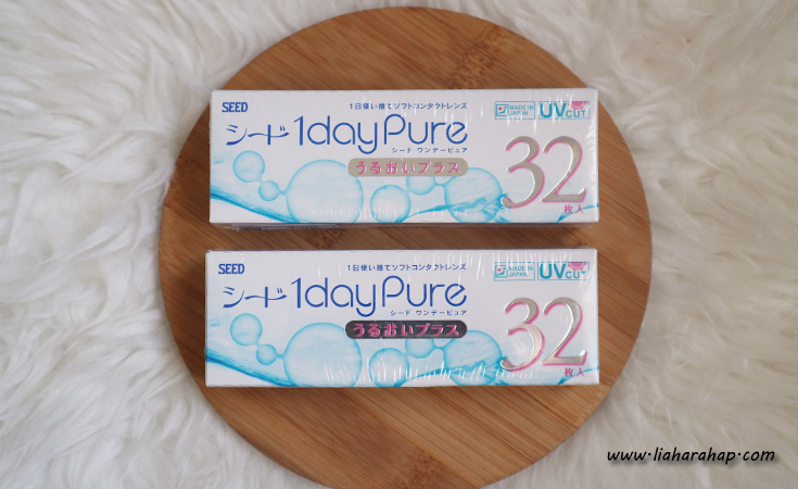 Softlens Harian Seed 1 Day Pure