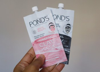 pond's mineral clay mask