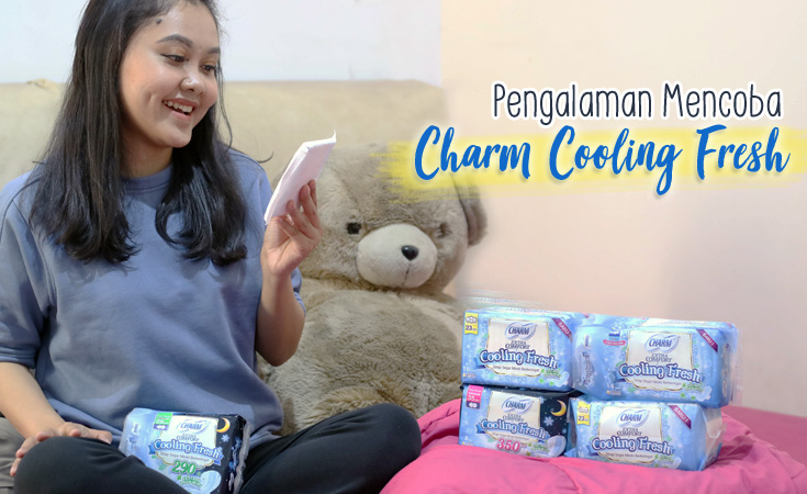 pembalut charm cooling fresh
