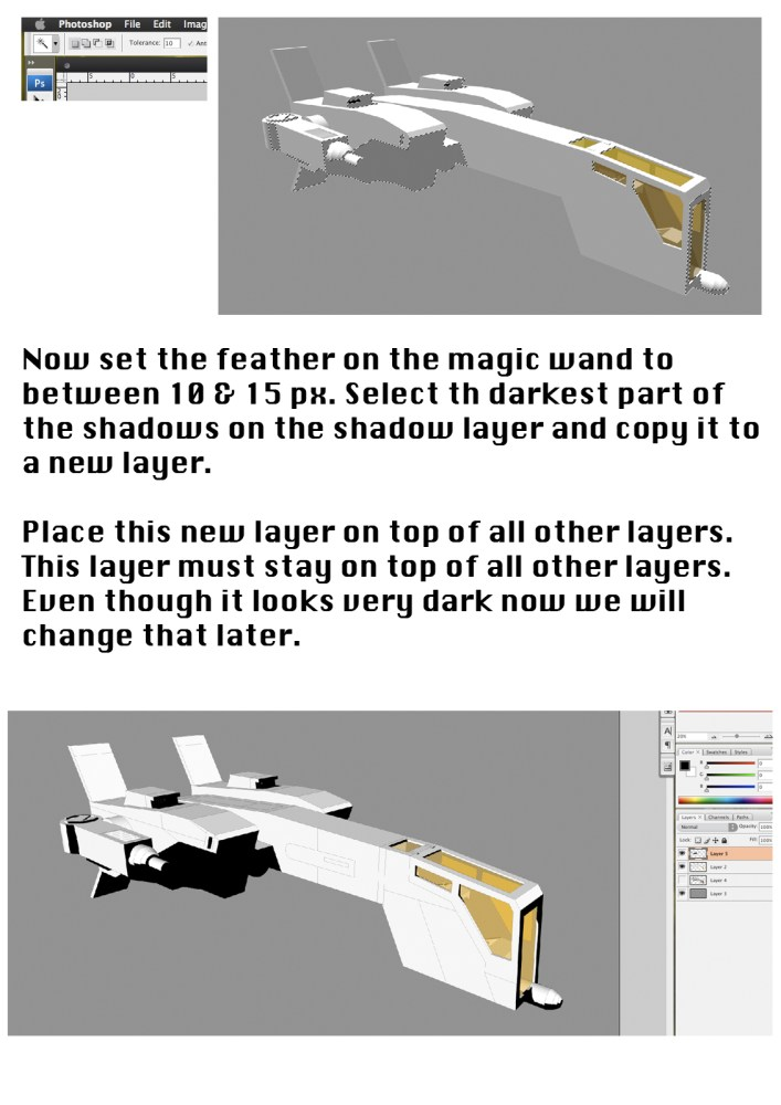 Tutorial - Illustrating your 3D models (2/6)