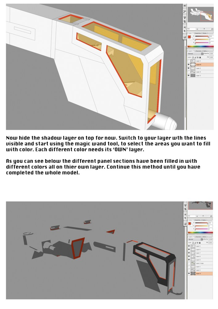 Tutorial - Illustrating your 3D models (3/6)