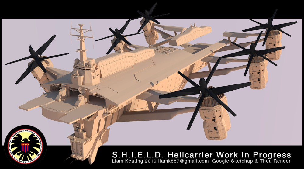 Project - S.H.I.E.L.D. Helicarrier (2010-Current) (5/6)