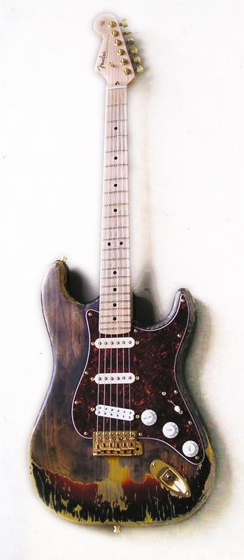 1967 Frank Zappa's Burned Hendrix Stratocaster