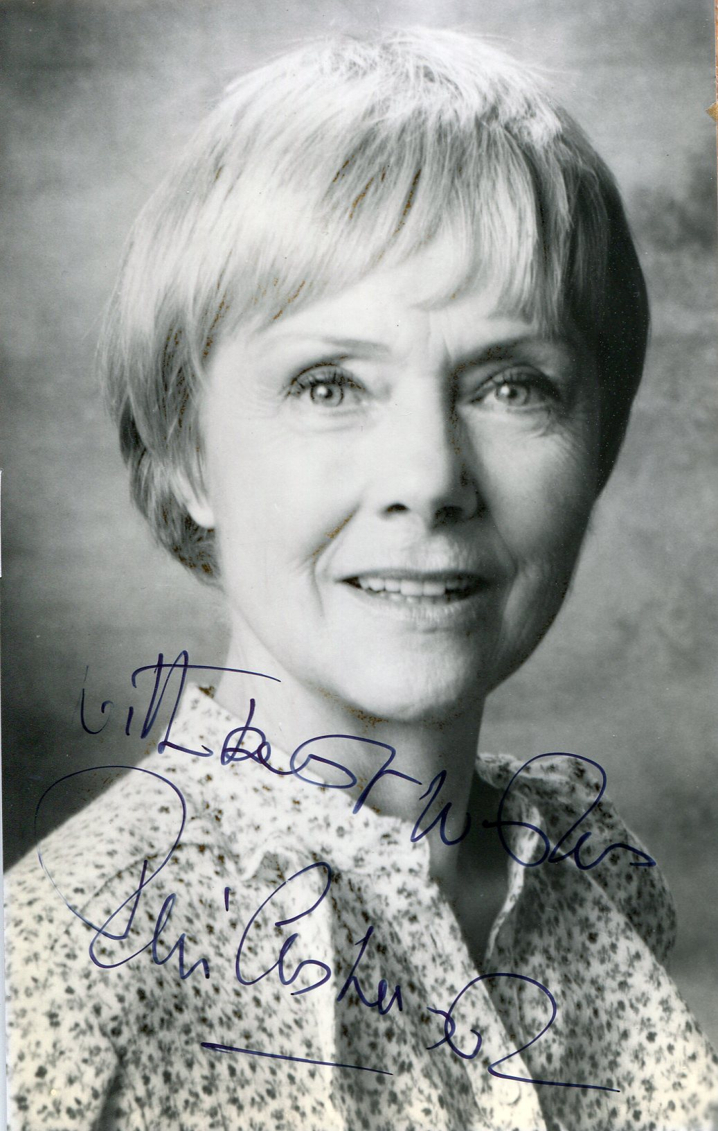 Signed Photographs of Actors from the 1970's - Movies.