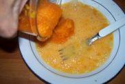 zanahorias y huevos