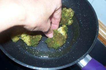 brocoli con almendras