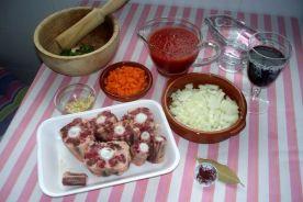 rabo de toro en salsa