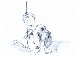 Concept Art_Boy & Dog 2