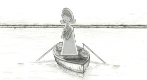 Mother In Boat