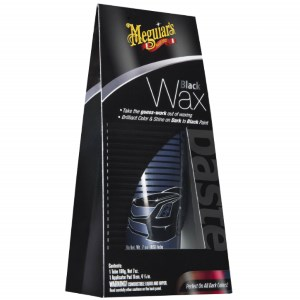 Meguiar's Glossy Reflective Black Wax Review