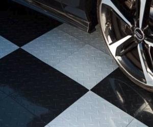 Diamond Pattern IncStores Nitro Garage Tiles Review