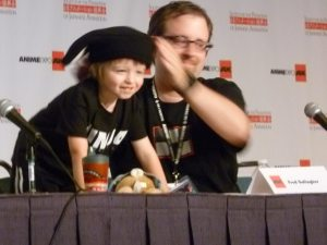 Fred Gallagher (Megatokyo) and Son