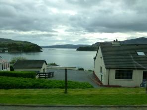 Portree view of water