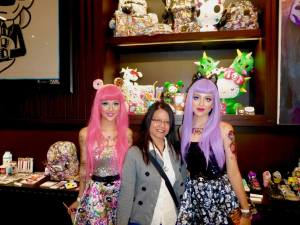 Me with Tokidoki Barbie dolls!