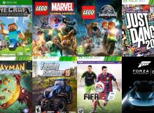 The Most Popular Xbox Games for Children and Young Teens 1