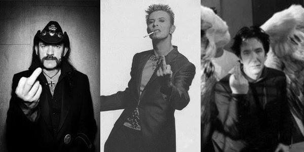 A salute to cancer from Lemmy, David Bowie, and Alan Rickman